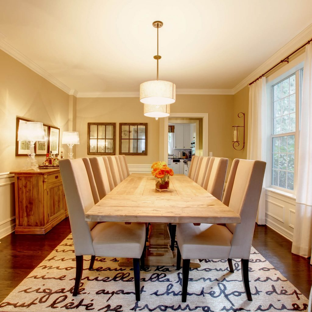 Best Rug for Your Dining Room | Noble Floors LLC