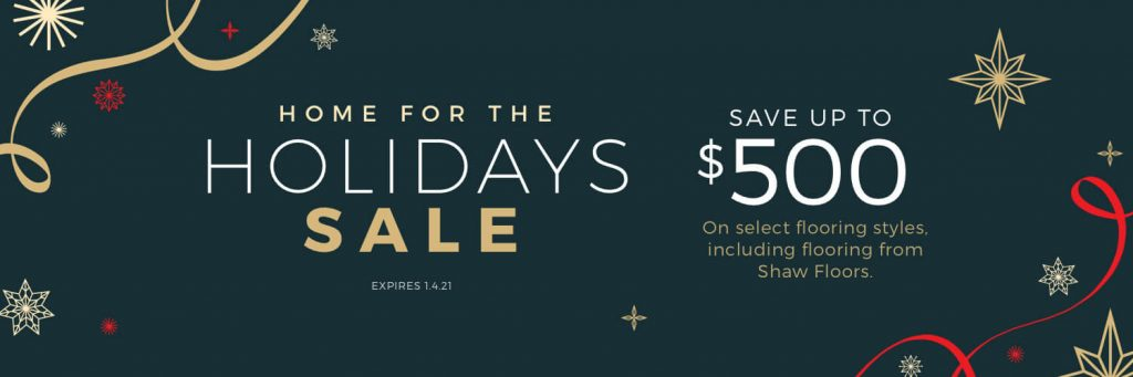 Home for the Holidays Sale | Noble Floors LLC
