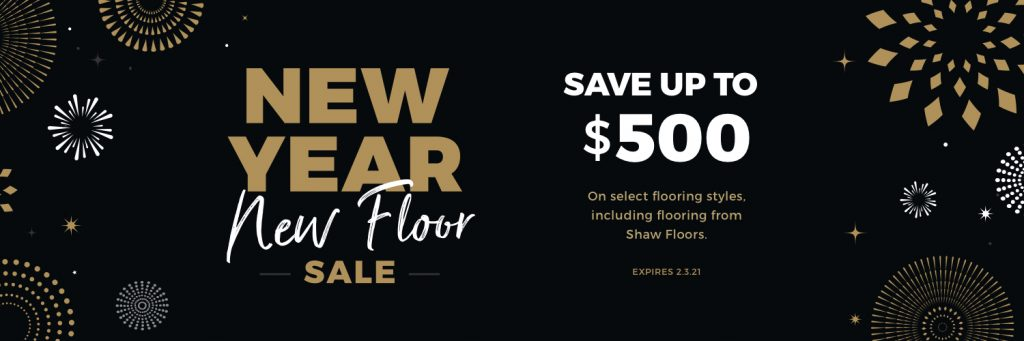 New Year New Floors Sale | Noble Floors LLC