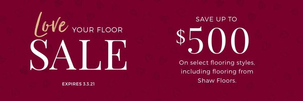 Love Your Floor Sale | Noble Floors LLC