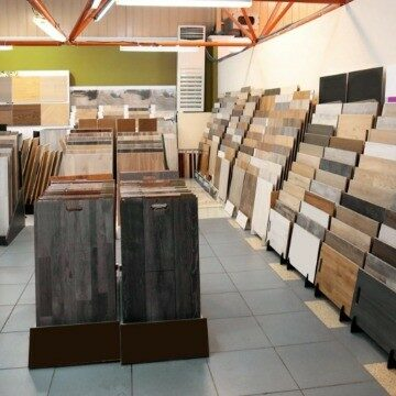 Variety of products in Mesa, AZ showroom | Noble Floors LLC