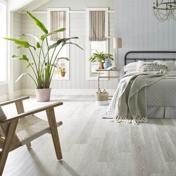 Century pine bedroom flooring | Noble Floors LLC