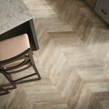 Glee chevron flooring | Noble Floors LLC