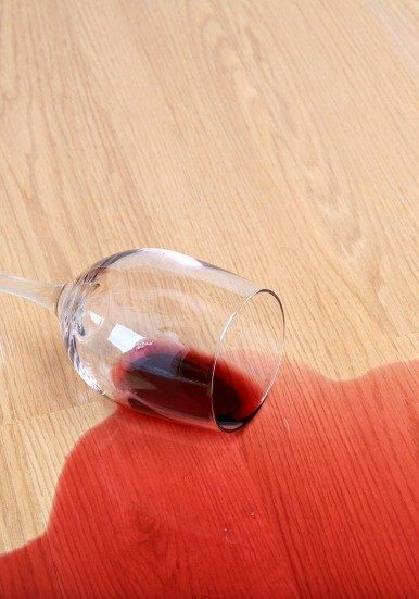 Wine stain cleaning | Noble Floors LLC